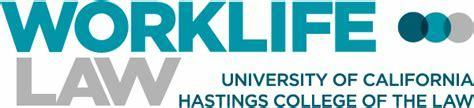 Logo for Worklife Law, University of California Hastings School of Law