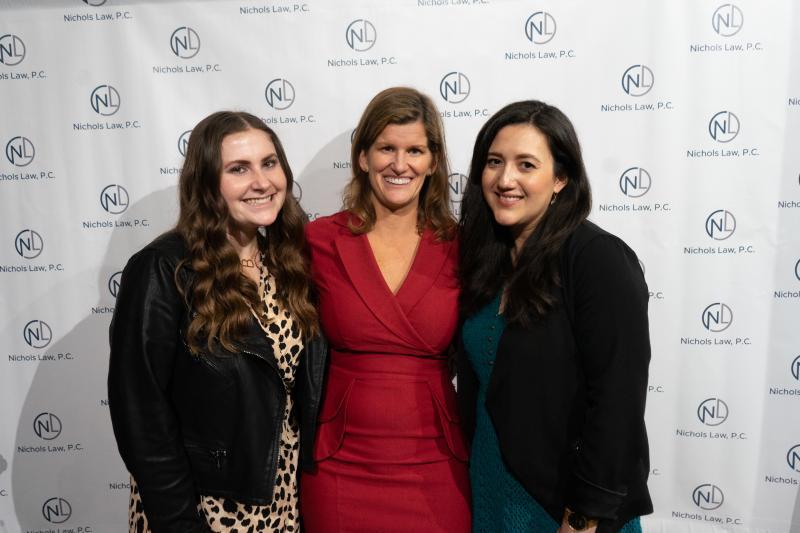 Brooke Sutter, Sarah Nichols, Rachel Bravo!